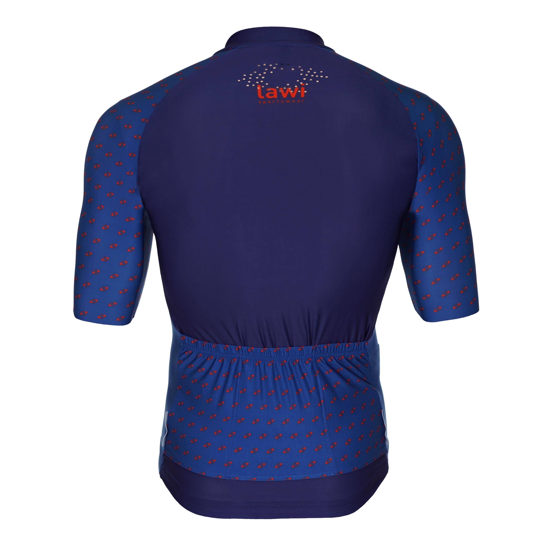 Pánský cyklistický dres Member Blue velikost XXXL 19c4919f66