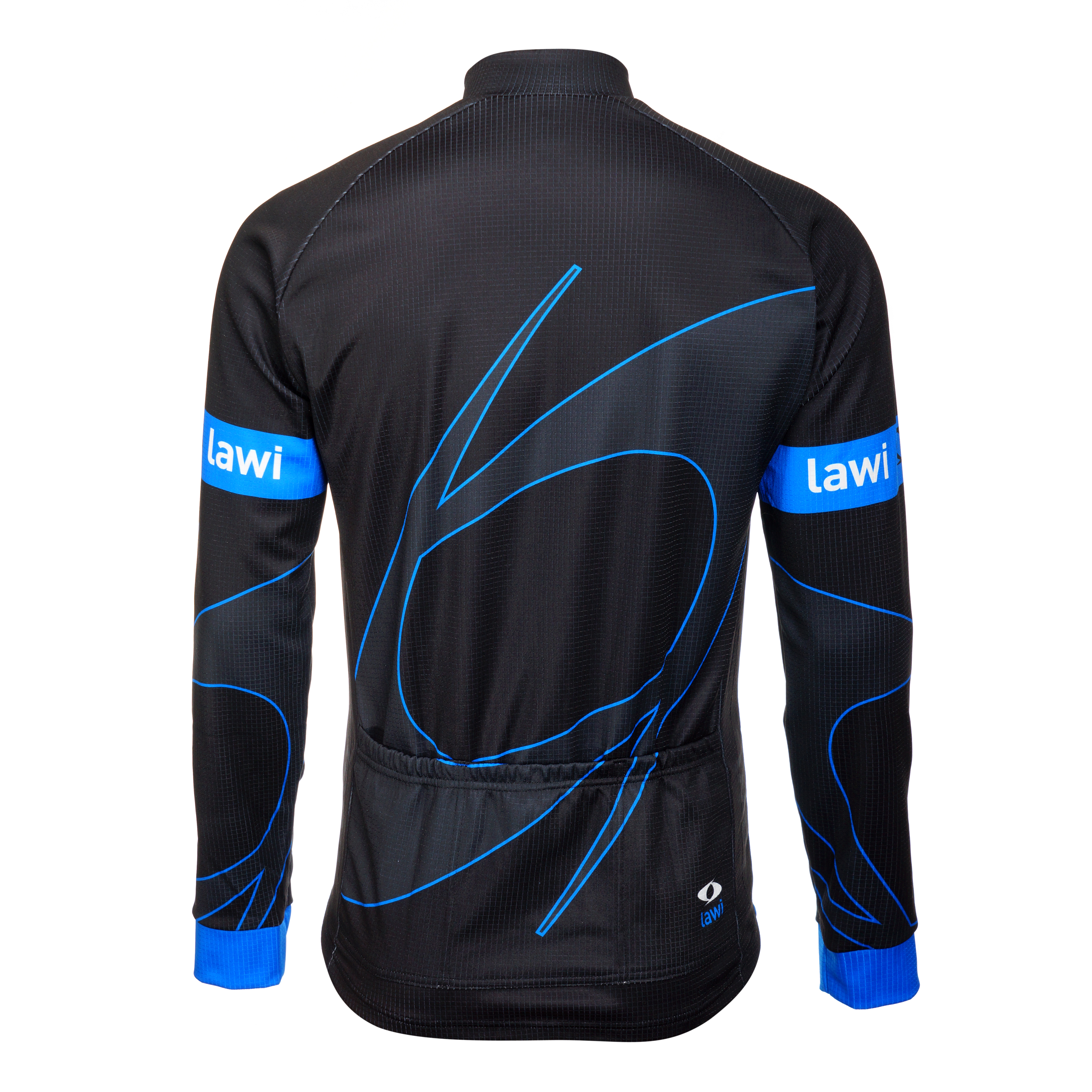 Pánský zateplený cyklistický dres Lawi Originals Blue velikost XL bd66f56465