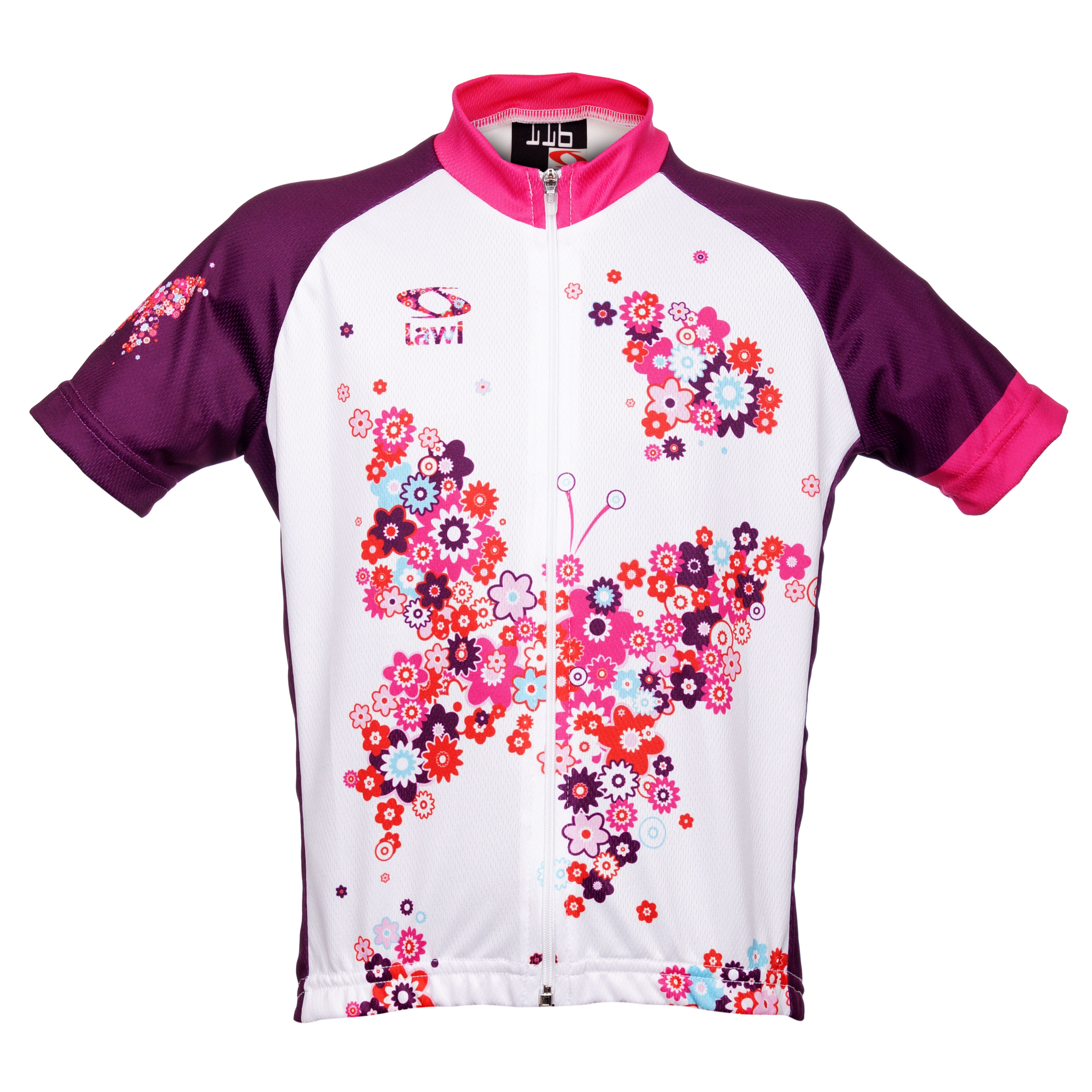 8dfa380f799a3 Dětský cyklistický dres Lilien