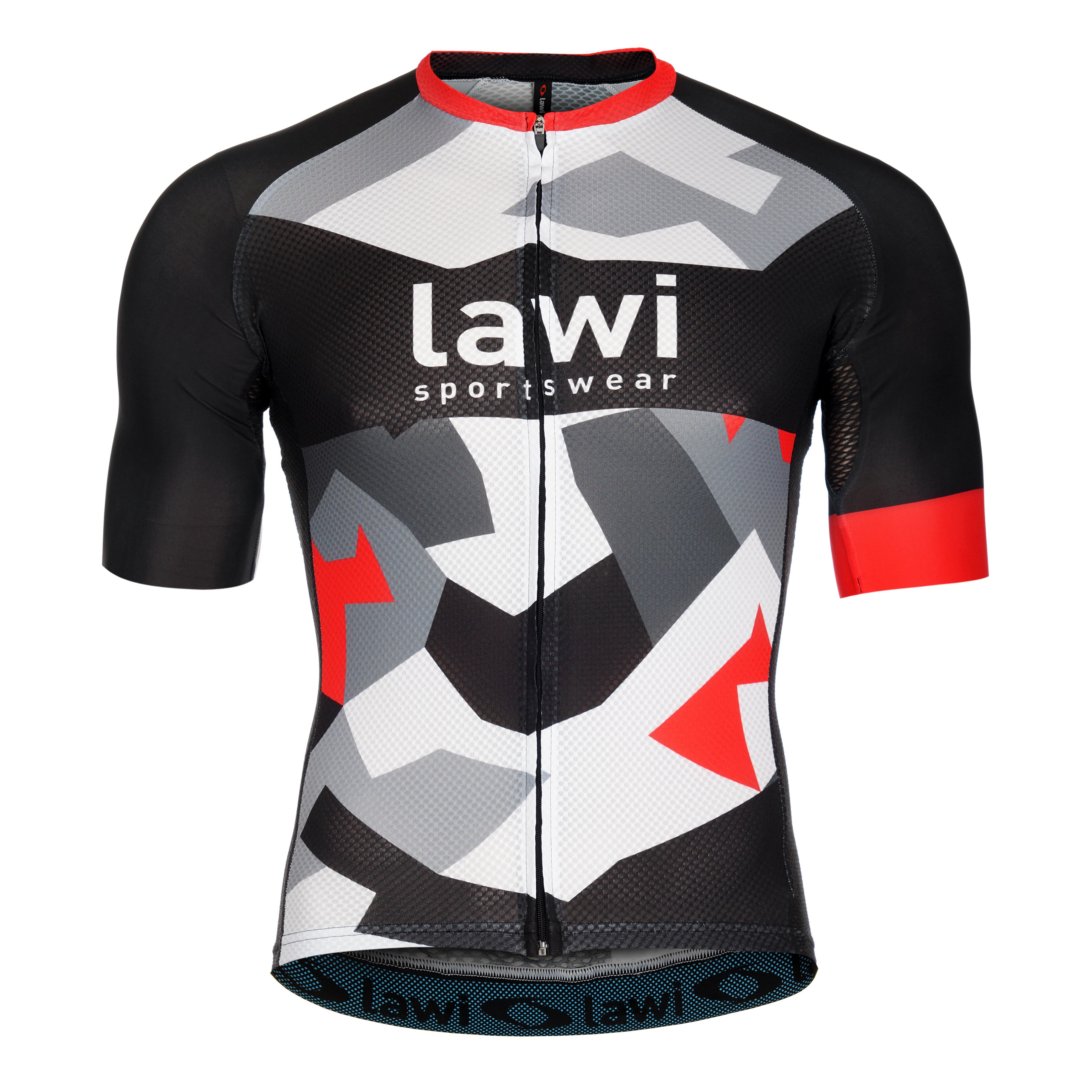 Pánský cyklistický dres Ventola Red velikost XXL 77ba0feb14