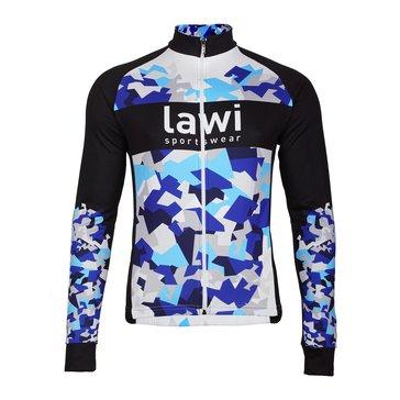 Pánské cyklistické kraťasy s laclem Camo Blue velikost XXL 2121a0ad3a